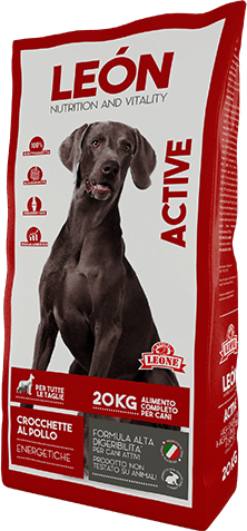 LEÓN pet food alimento completo per cani ACTIVE