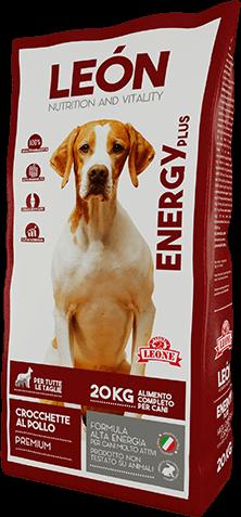 LEON pet food alimento completo per cani ENERGY
