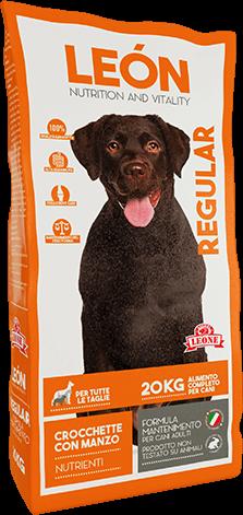 LEÓN pet food Cane REGULAR